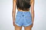 High-waisted Cheeky Shorts