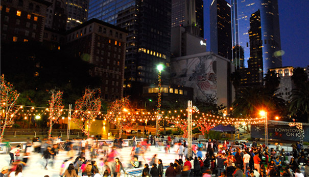 Pershing Square Ice Rink